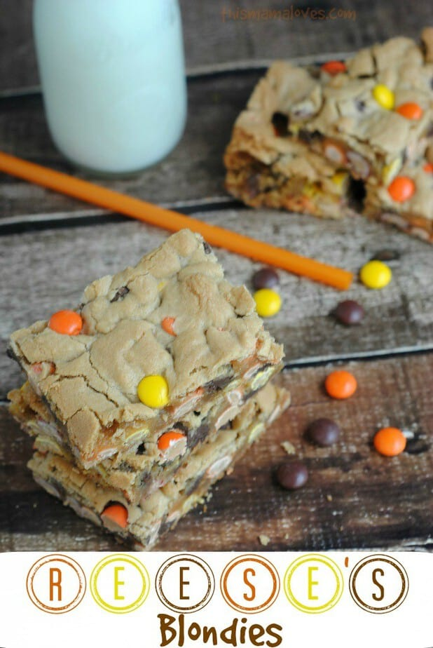 reeses Blondies recipe
