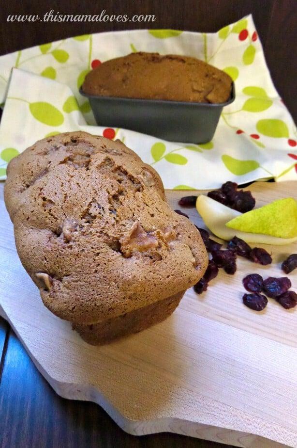 Chunky Pear Bread 2