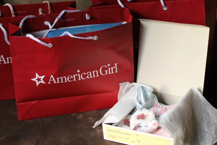 american girl bags