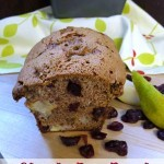 Chunky Pear and Cranberry Bread