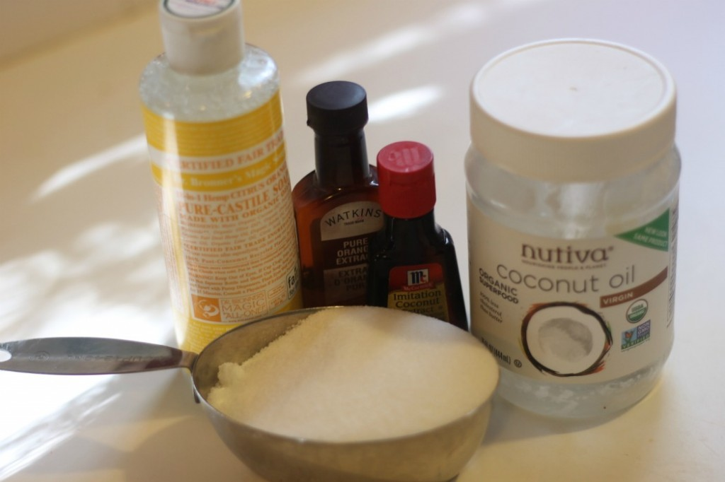 coconut citrus scrub ingredients
