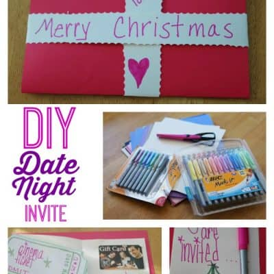 DIY Date Night Invite
