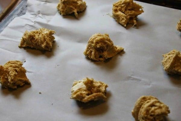 egg nog cookies bake