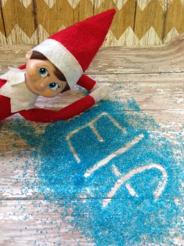elf blue sugar