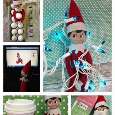 Elf on the Shelf Ideas (Again)