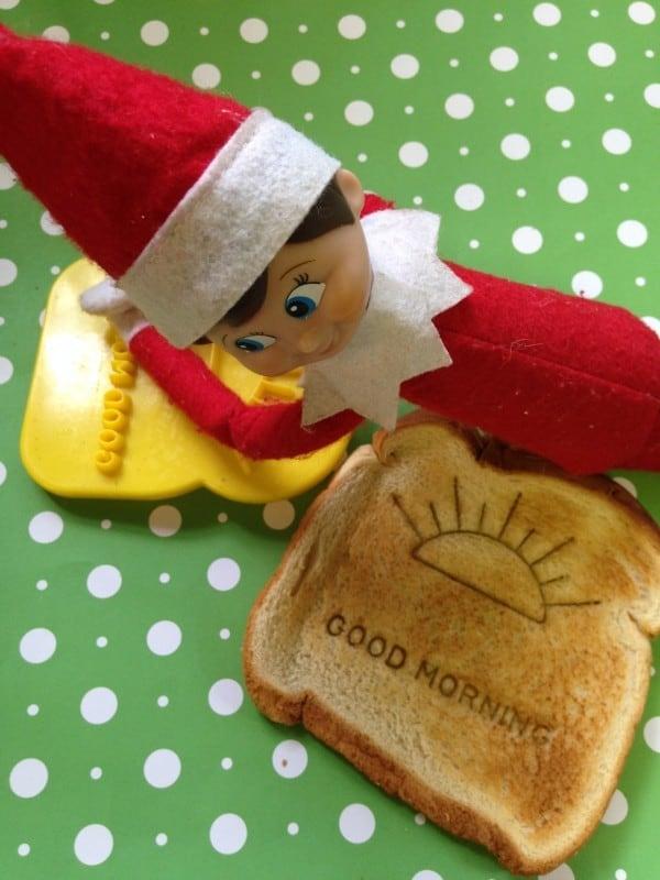 elf  toast