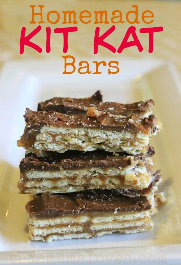 Homemade Kit Kat Bars Recipe — Dishmaps