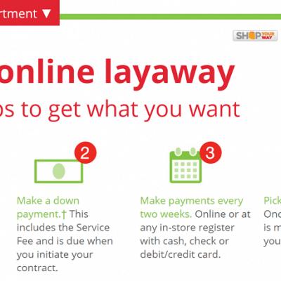 Kmart Layaway now Online