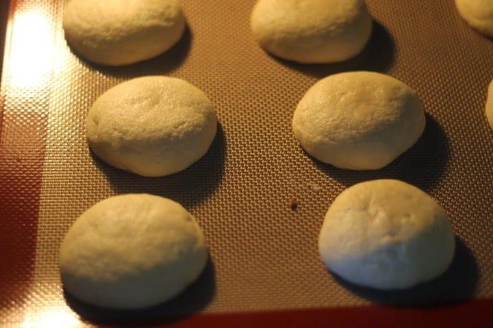 melted snowman sugar cookie bake