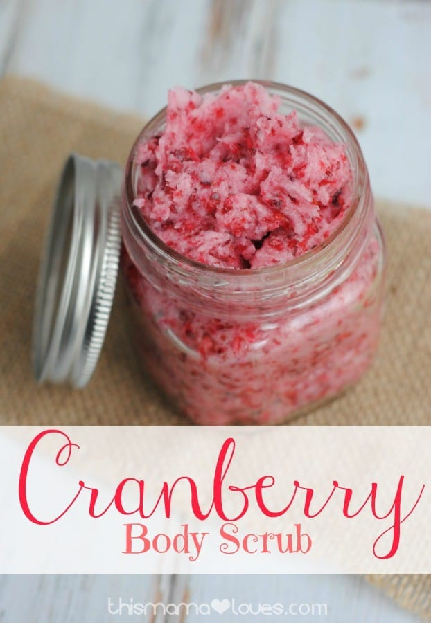 Cranberry-body-scrub