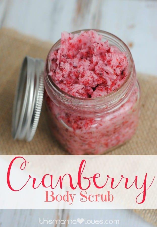 Cranberry-body-scrub