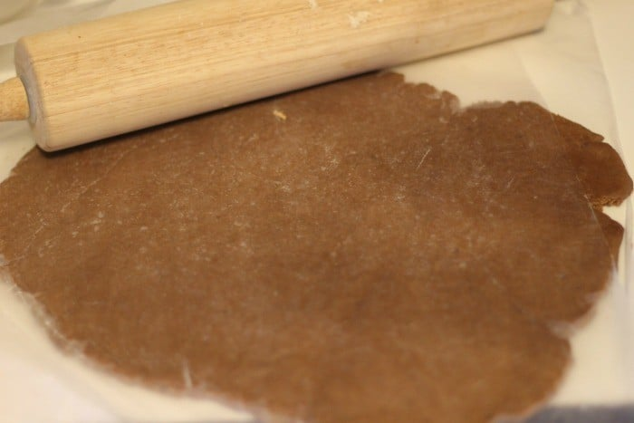 chocolate sugar cookie roll out