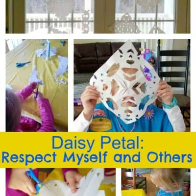 Daisy Scouts: Respect Myself and Others (and Frozen)