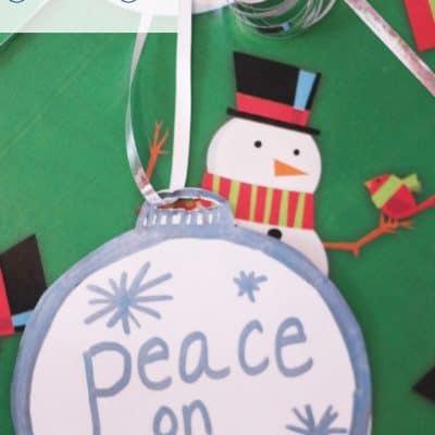 DIY Ornament Gift Tag