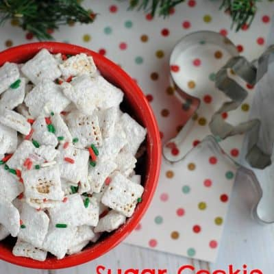 Sugar Cookie Puppy Chow Recipe