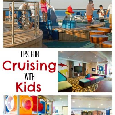 5 Tips for Cruising with Kids