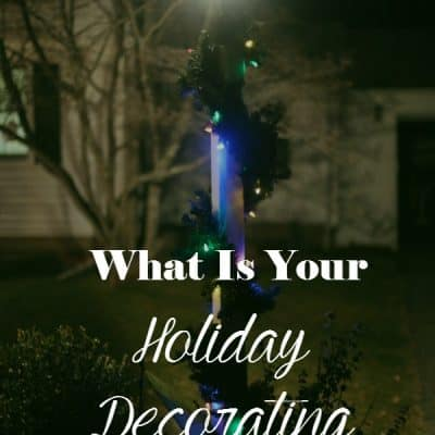 What Is Your Holiday Decorating Style? #BestDressedHome