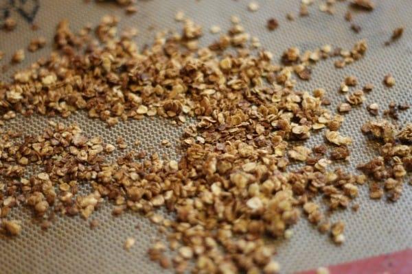 baked granola