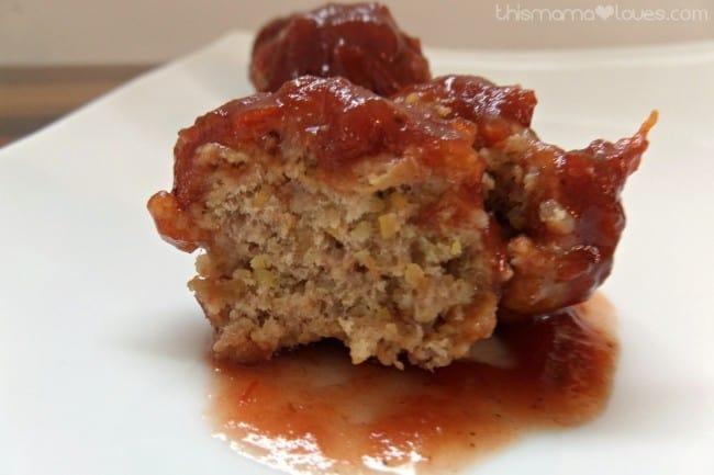 cranberry bbq turkey meatballs gluten free