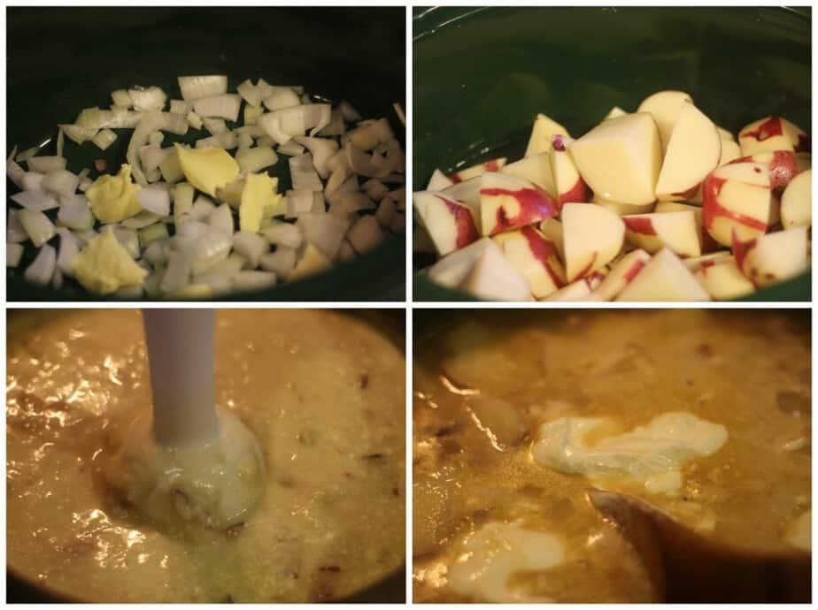 crockpot loaded baked potato soup
