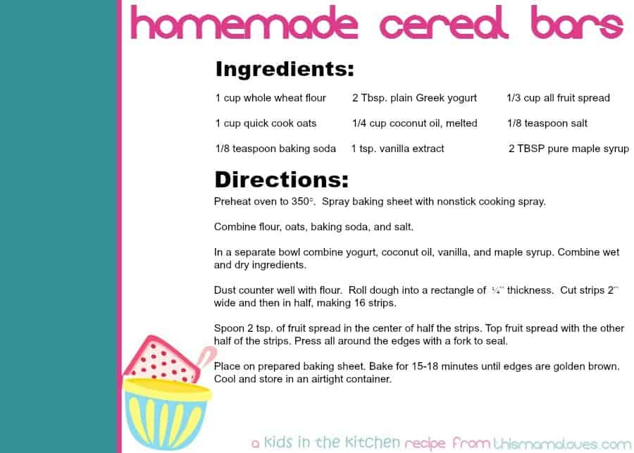 homemade-cereal-bars-recipe-card