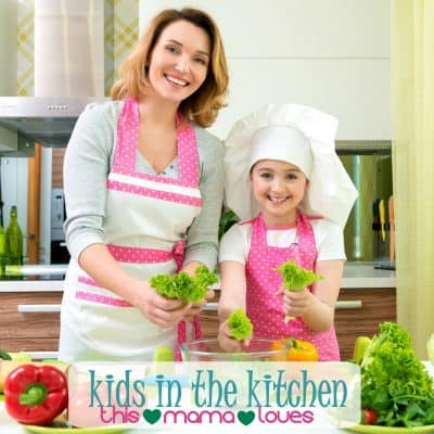 Cooking with Kids- Kids in The Kitchen