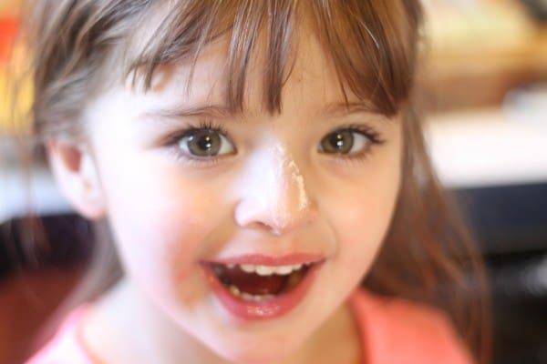 nugget flour face