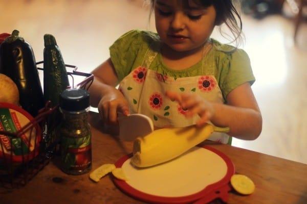 ratatouille slice kids kitchen