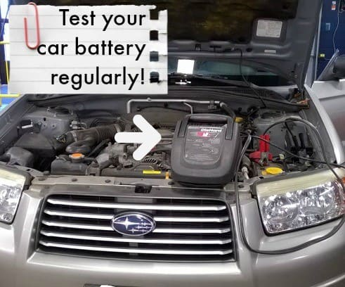 test-car-battery