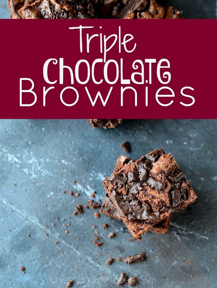 Triple Chocolate Brownies (Good for you!) This Mama Loves