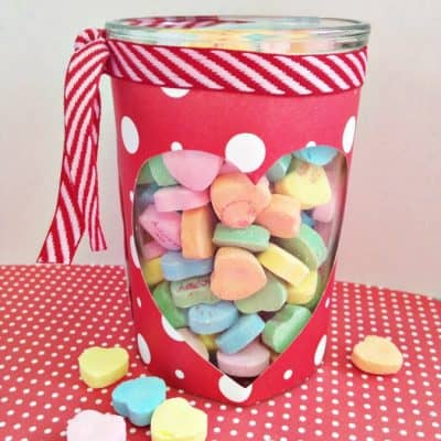 {2} Valentine's Day Crafts- Votive Jars