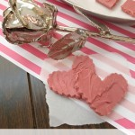 Easy Red Velvet Valentine Fudge