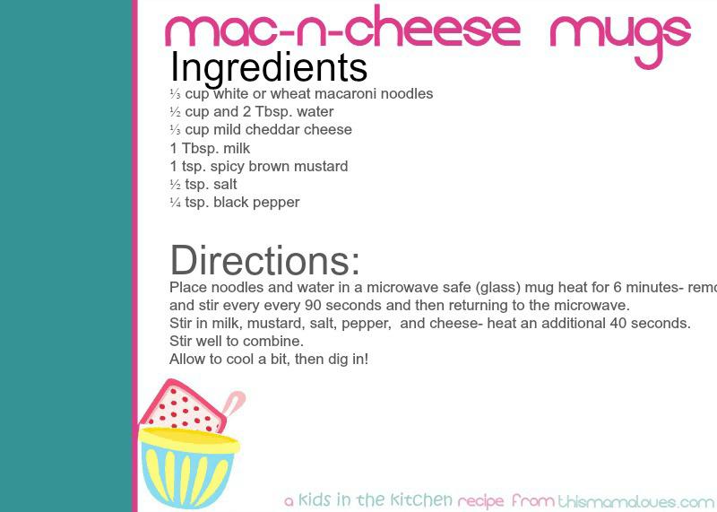 Easy Mac N Cheese Mugs This Mama Loves