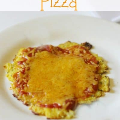 Kids in The Kitchen- Mini Cauliflower Crust Pizzas