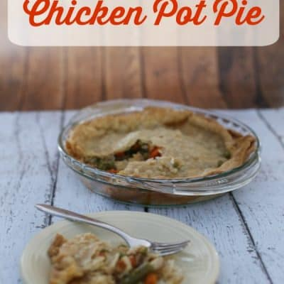 {Forgot to plan dinner}Chicken Pot Pie