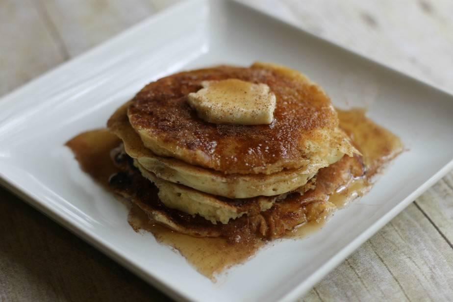 snickerdoodle pancake horizontal
