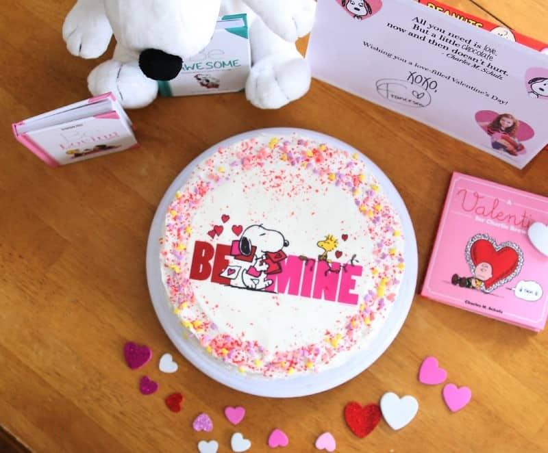 snoopy-valentine-cake
