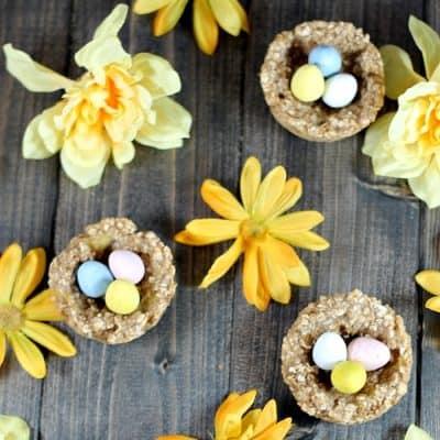 Banana Oatmeal Nests Recipe