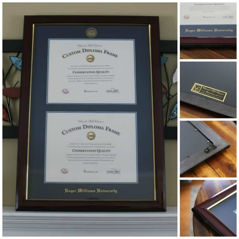 church-hill-diploma-frame-features