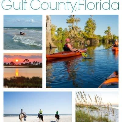 Family adventure vacation Gulf County, Florida