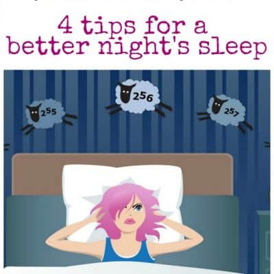 Struggle with Insomnia? Here Are Four Tips for A Better Night's Sleep