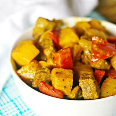 Beef and Pineapple Curry Recipe