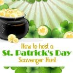 st patricks day scavenger hunt
