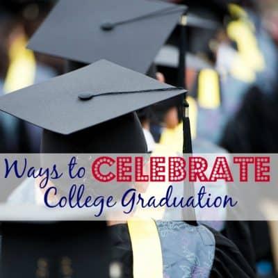 Four Cool Ways to Celebrate College Graduation