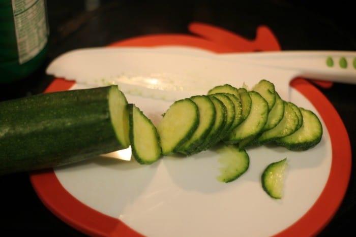 zucchini chips slice