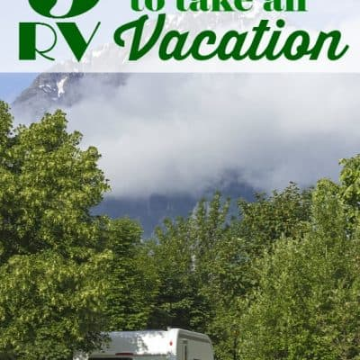 5 Reasons to Take an RV Vacation