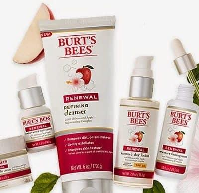 Burt's Bees Renewal Line