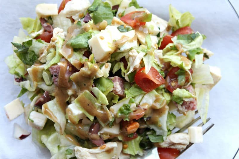 ITALIAN CHOPPED SALAD close horiz