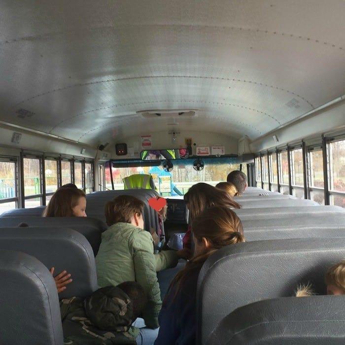 bus wet ones field trip