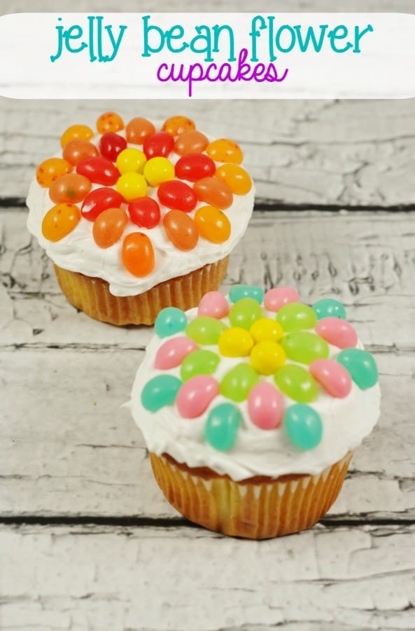 jelly-bean-flower-cupcakes